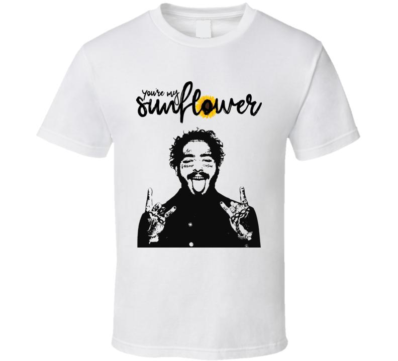 Post Sunflower Hot Design  T Shirt
