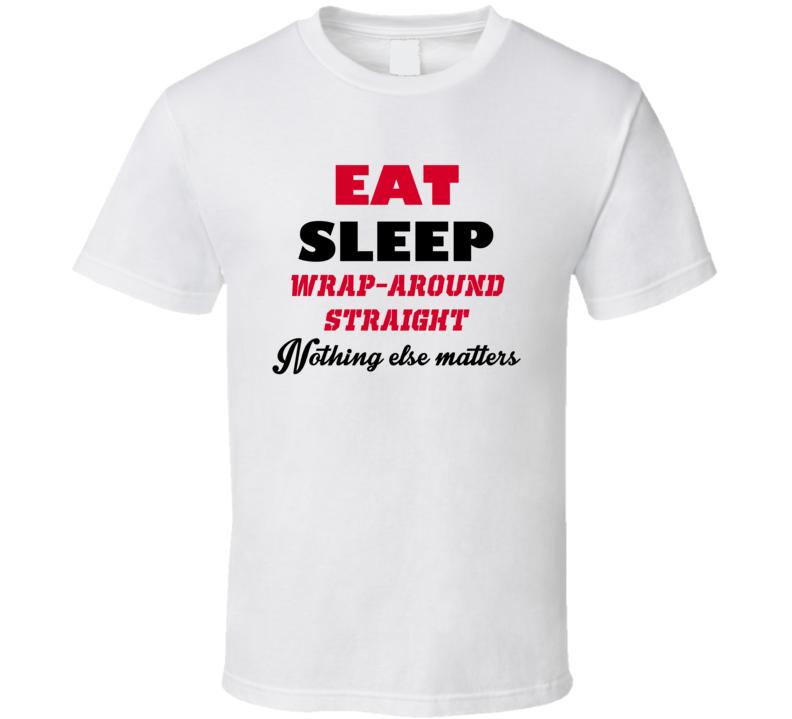 Eat Sleep Wrap-Around Straight Popular Card Game T Shirt