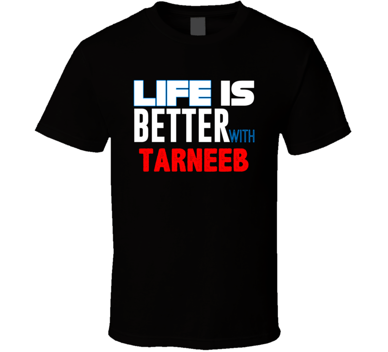 Life Is Better With Tarneeb Funny Card Games Cool T Shirt