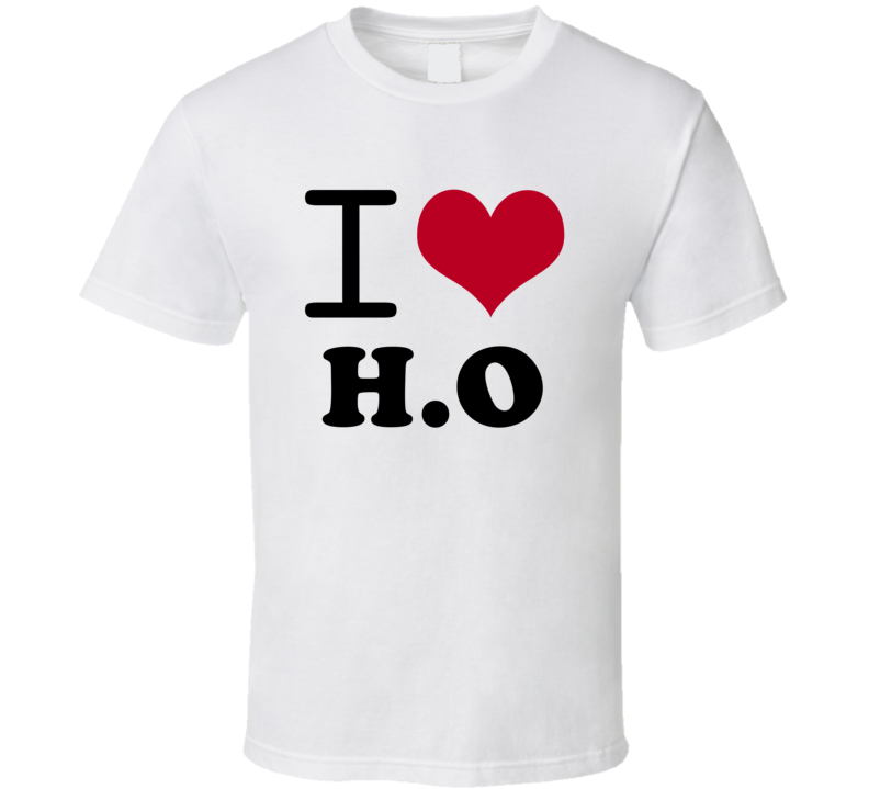 I Love H.O Popular Card Game Classic Heart T Shirt