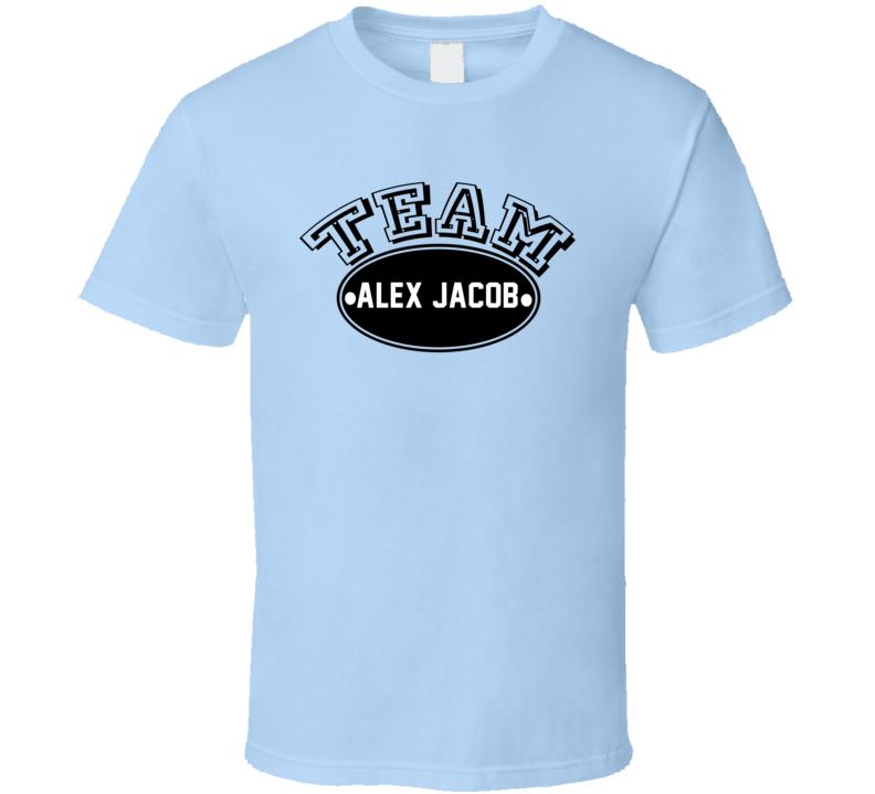 Team Alex JacobPopular Poker Player Fan T Shirt