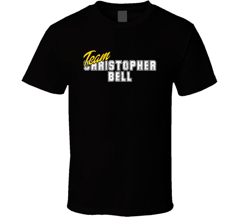 Team Christopher Bell Poker Player Fan Support T Shirt