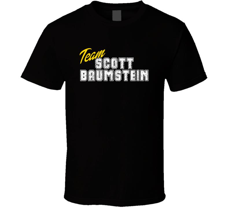 Team Scott Baumstein Poker Player Fan Support T Shirt