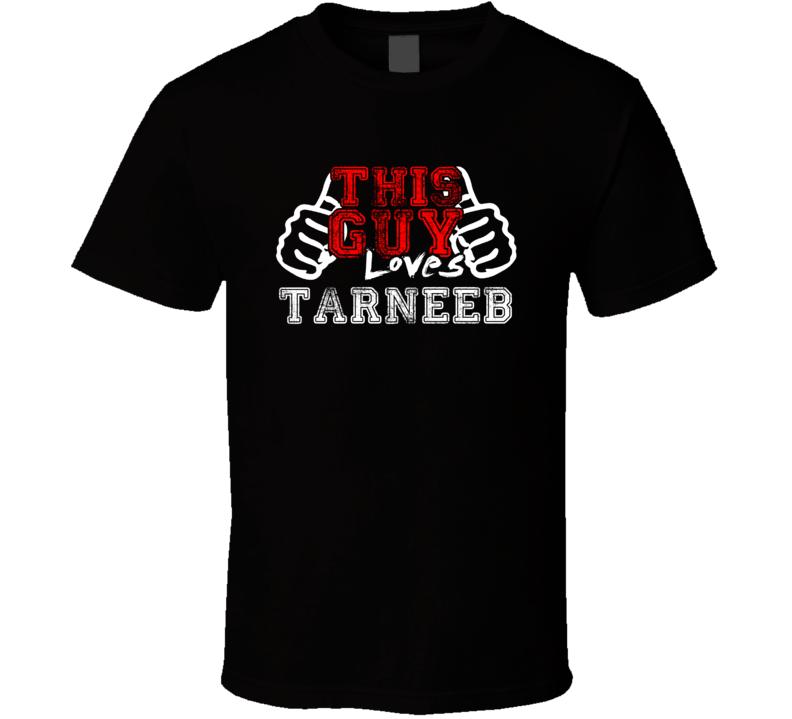 This Guy Loves Tarneeb Fan Favorite Card Games Distress Style T Shirt