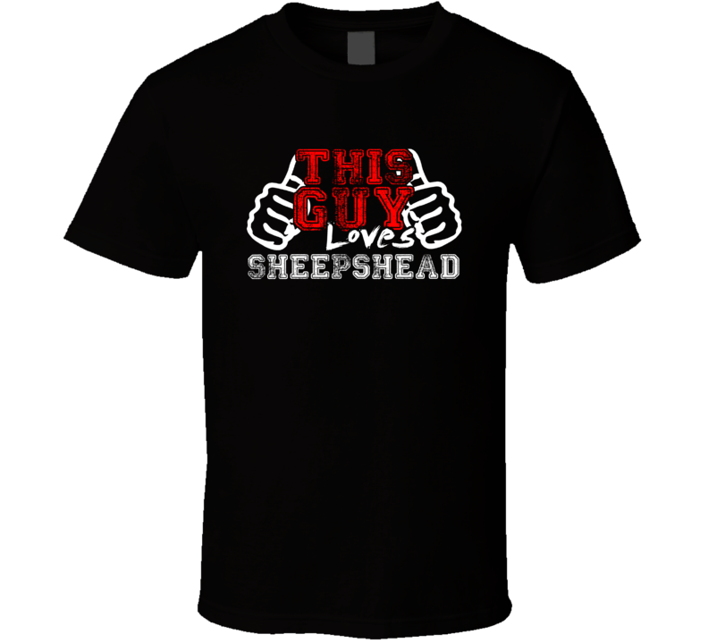 This Guy Loves Sheepshead Fan Favorite Card Games Distress Style T Shirt