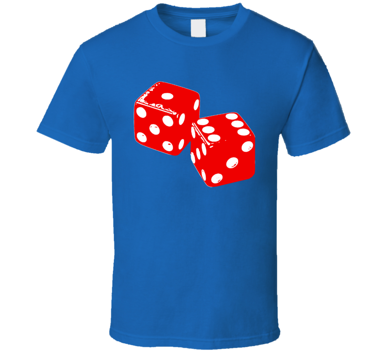 Craps Dice Casino Las Vegas Gambling Player Betting Game Party T Shirt