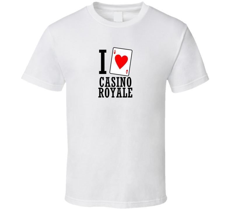 I Heart Casino Royale Movie T Shirt