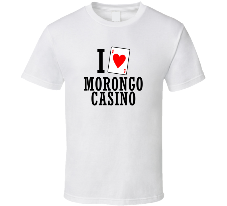 I Heart Morongo Casino Gambling T Shirt
