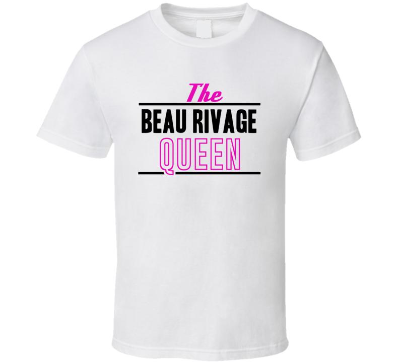The Beau Rivage Queen Gambling T Shirt