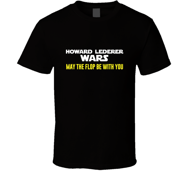 Howard Lederer Wars Pro Gamblers T Shirt