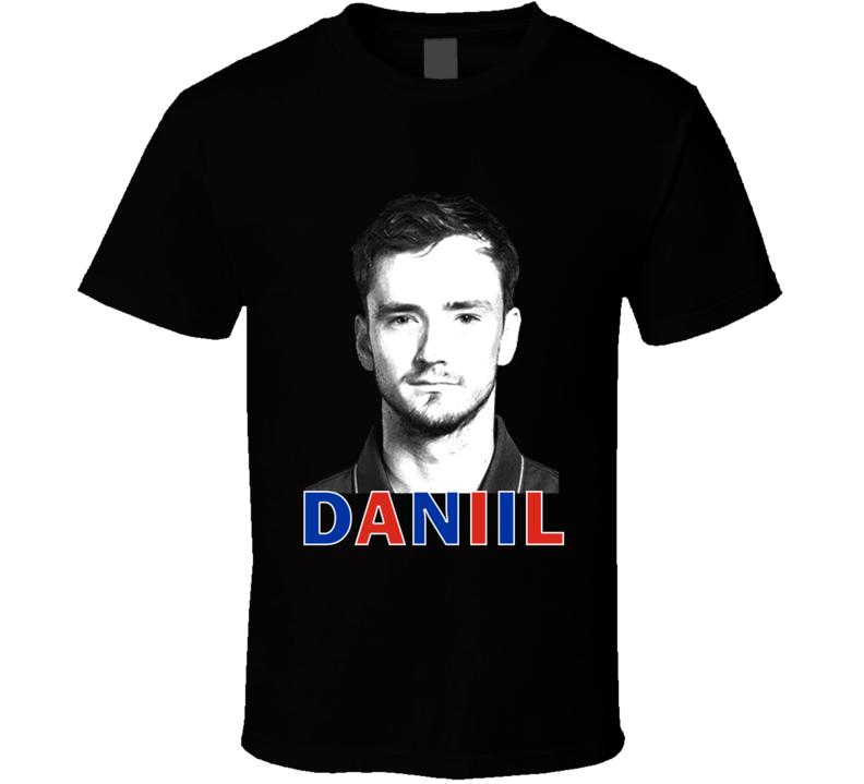 Daniil Medvedev Russia Russian Tennis Fan Cool Gift T Shirt