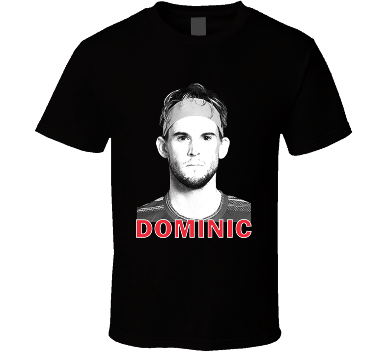 Dominic Thiem Austria Austrian Tennis Fan Cool Gift T Shirt