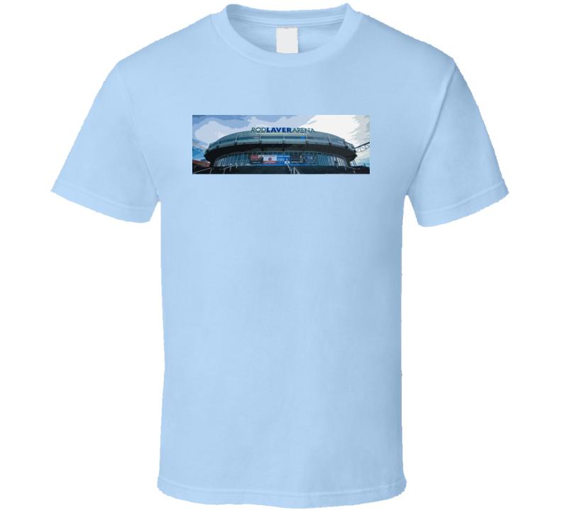 Rod Laver Arena Australian Open Tennis Fan T Shirt