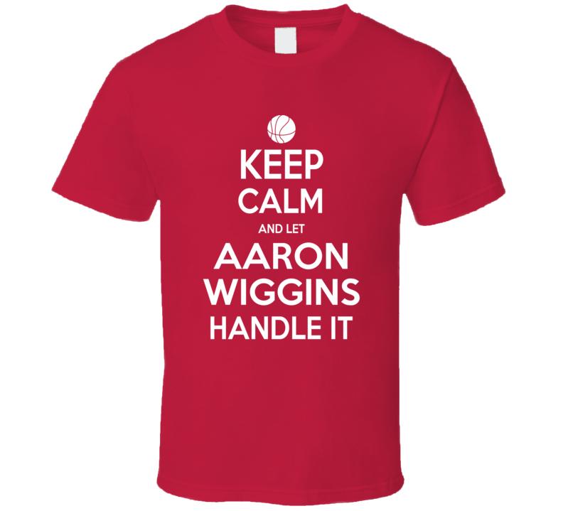 Aaron Wiggins Maryland Basketball Keep Calm Fan T Shirt