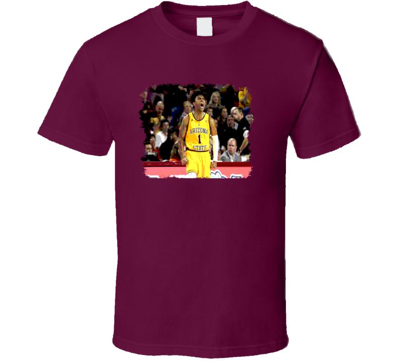 Remy Martin Arizona State  Basketball Fan March Grunge Look T Shirt