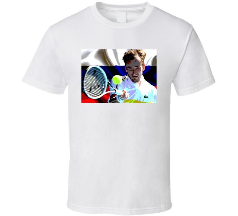 Daniil Medvedev Russian Tennis Fan Gift T Shirt