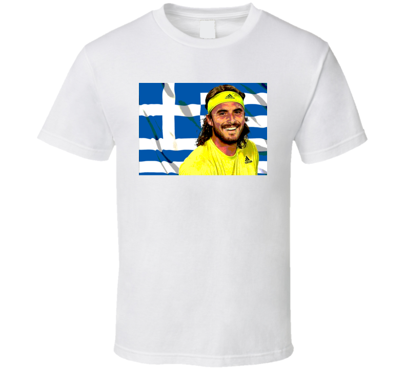 Stefanos Tsitsipas Greece Greek Tennis Fan Gift T Shirt