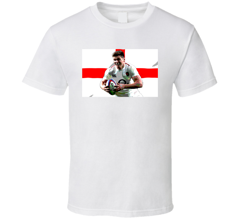 Owen Farrell England Captain Rugby Fan T Shirt
