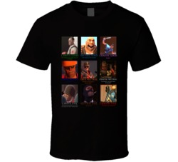 Team Fortress 2 Parody Video Game D&D Alignments T Shirt