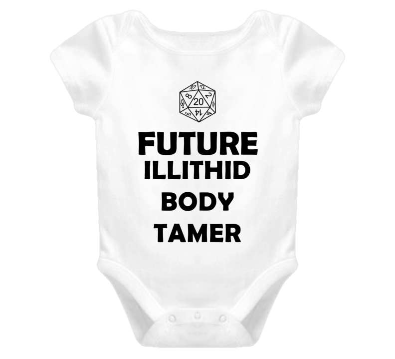 Future Illithid Body Tamer Role Playing Game Baby One Piece