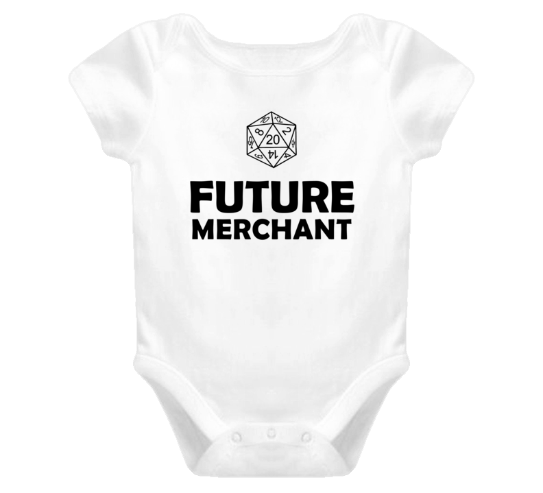 Future Merchant Role Playing Game Baby One Piece