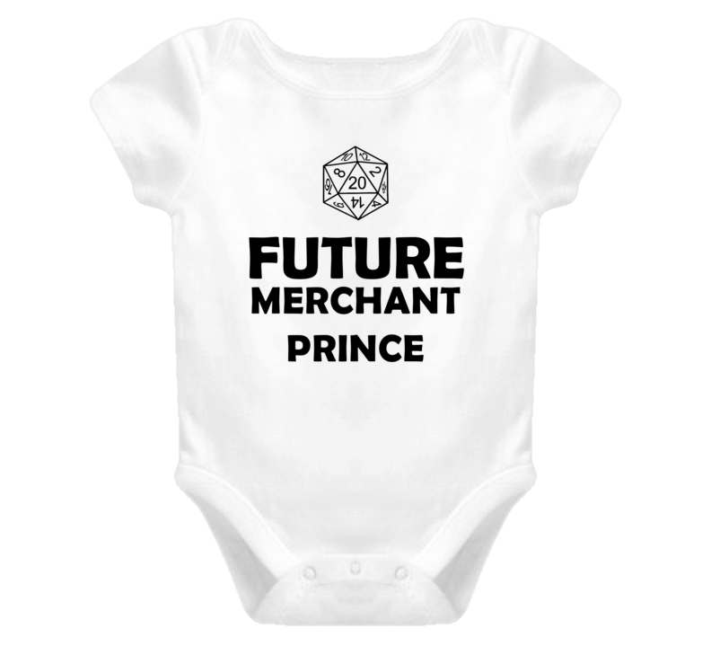 Future Merchant Prince Role Playing Game Baby One Piece