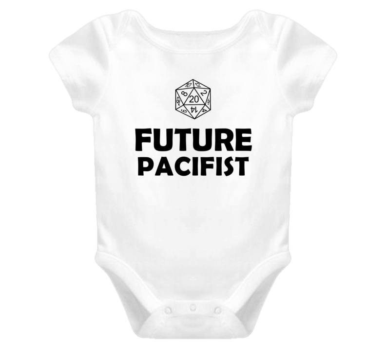 Future Pacifist Role Playing Game Baby One Piece