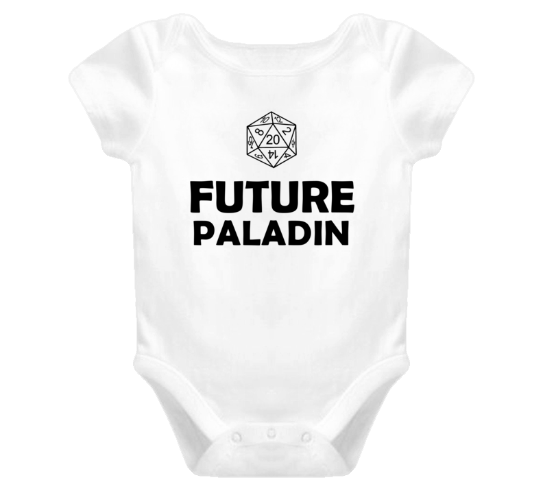 Future Paladin Role Playing Game Baby One Piece