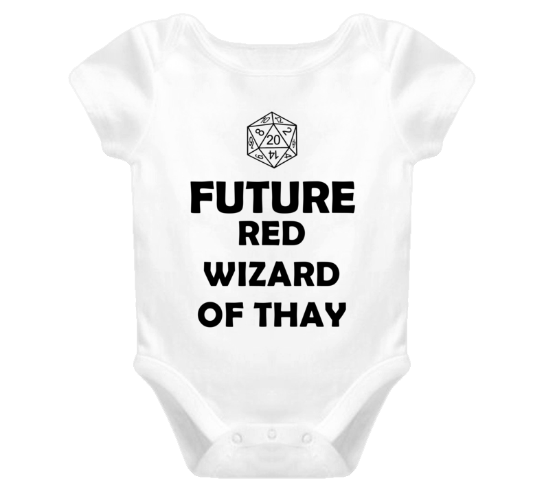 Future Red Wizard of Thay Role Playing Game Baby One Piece