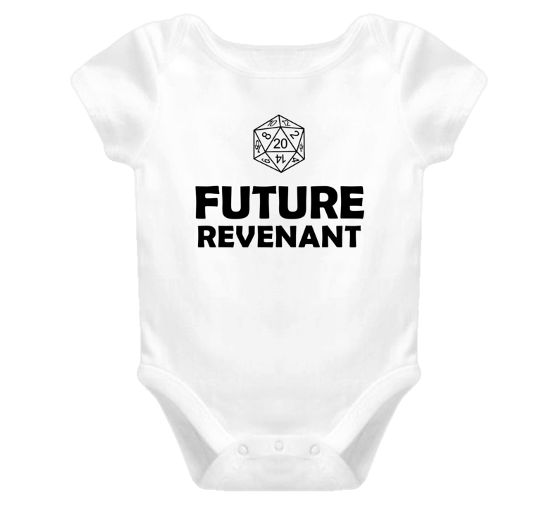 Future Revenant Role Playing Game Baby One Piece