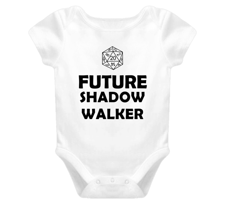 Future Shadow Walker Role Playing Game Baby One Piece