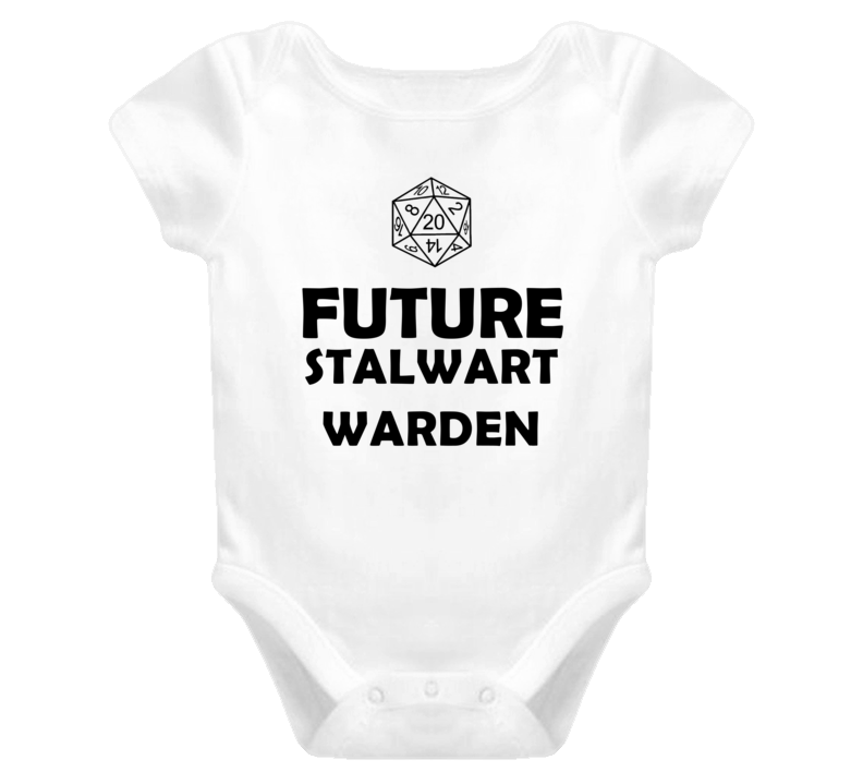 Future Stalwart Warden Role Playing Game Baby One Piece