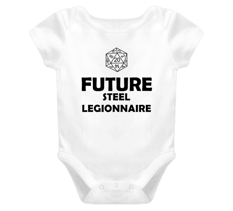 Future Steel Legionnaire Role Playing Game Baby One Piece