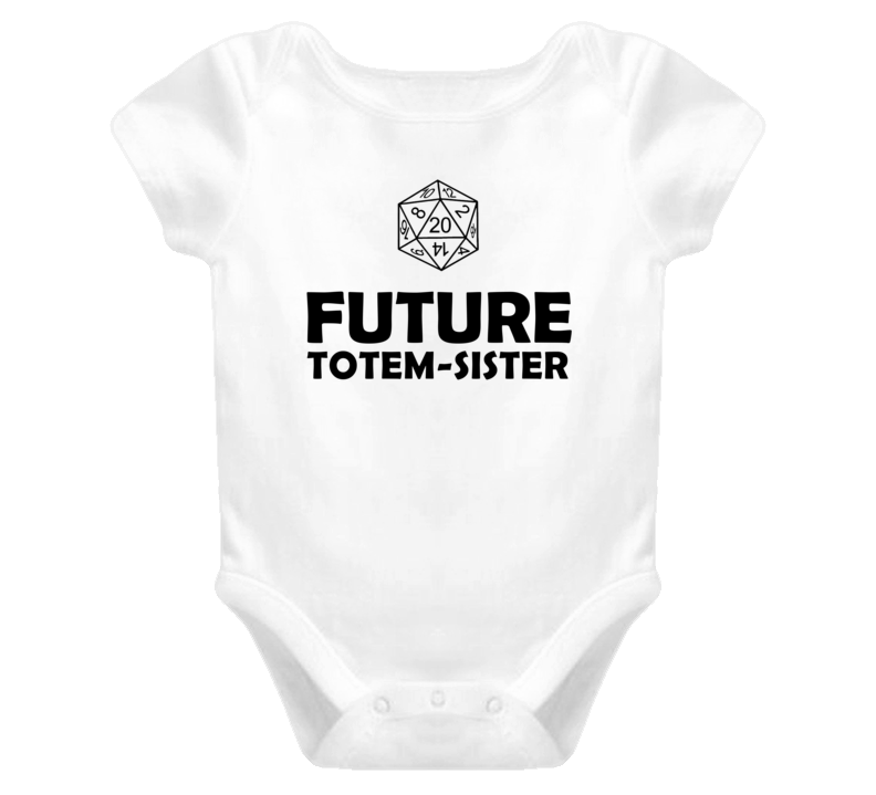 Future Totem sister Role Playing Game Baby One Piece