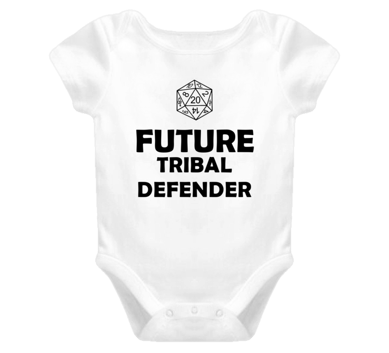 Future Tribal Defender Role Playing Game Baby One Piece