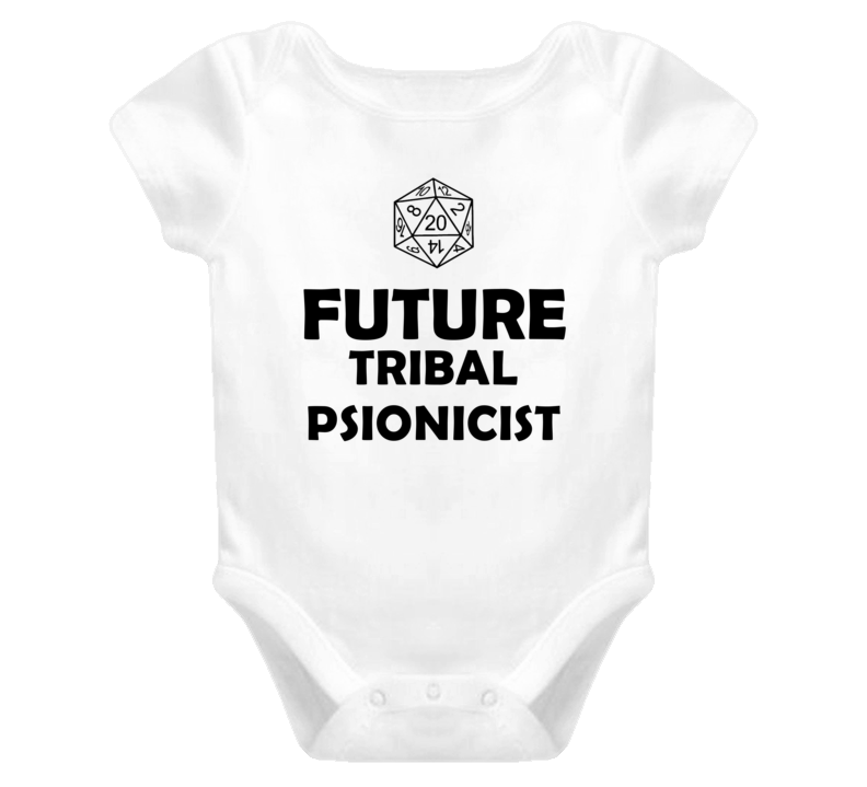 Future Tribal Psionicist Role Playing Game Baby One Piece