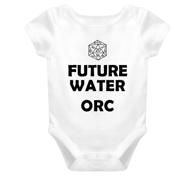 Future Water Orc Role Playing Game Baby One Piece