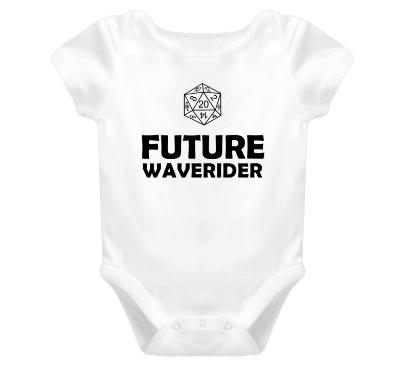 Future Waverider Role Playing Game Baby One Piece