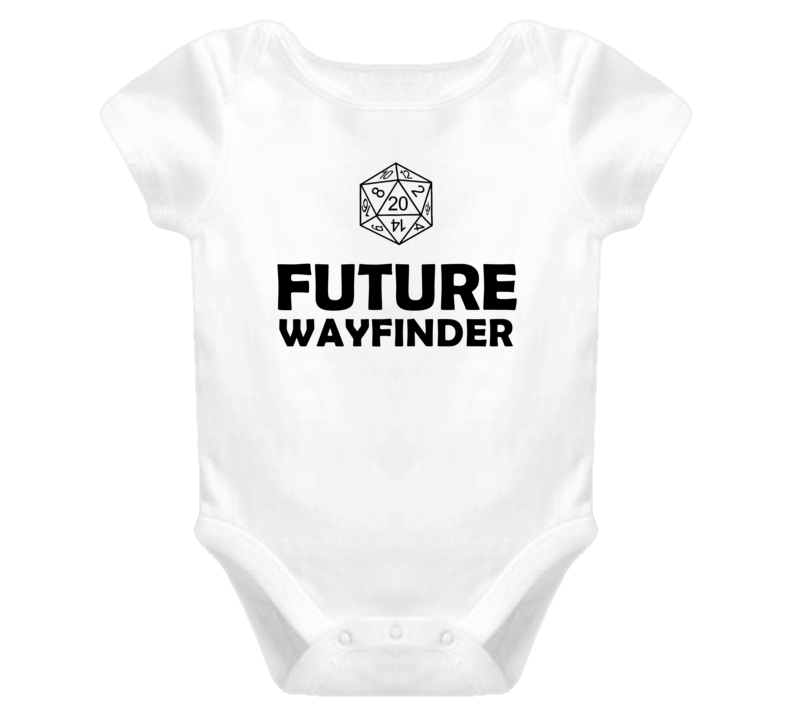 Future Wayfinder Role Playing Game Baby One Piece