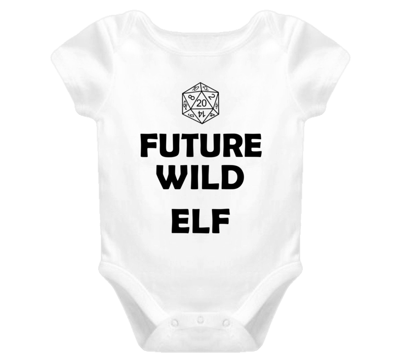 Future Wild Elf Role Playing Game Baby One Piece