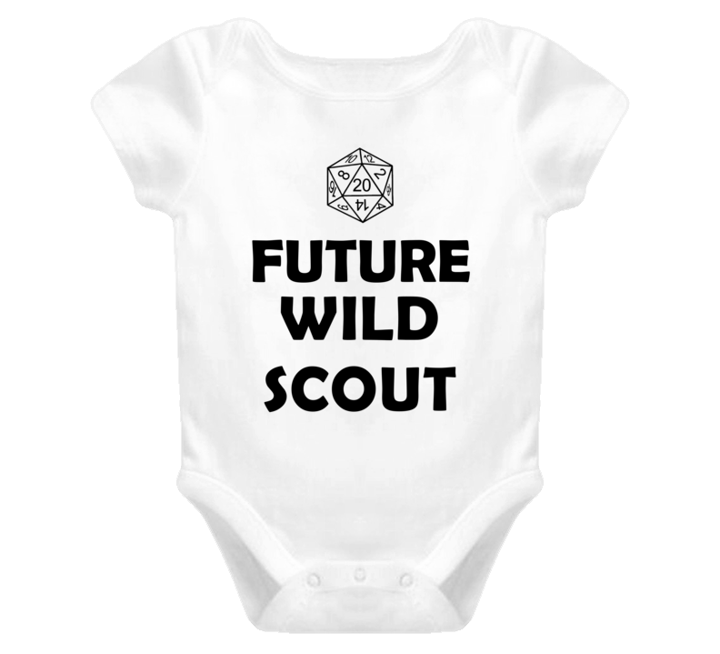 Future Wild Scout Role Playing Game Baby One Piece