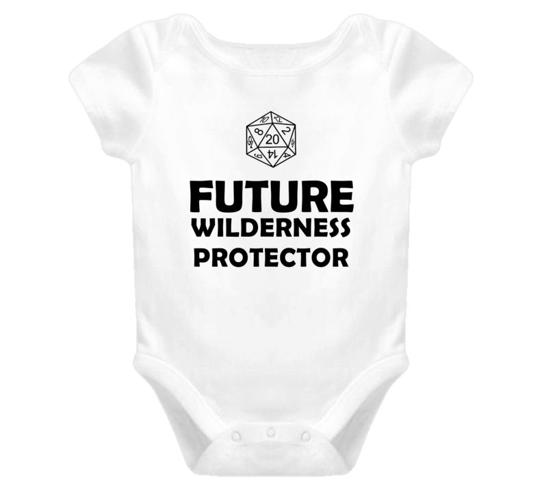 Future Wilderness Protector Role Playing Game Baby One Piece