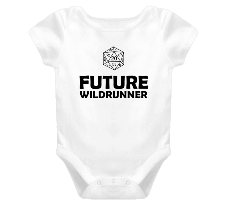 Future Wildrunner Role Playing Game Baby One Piece