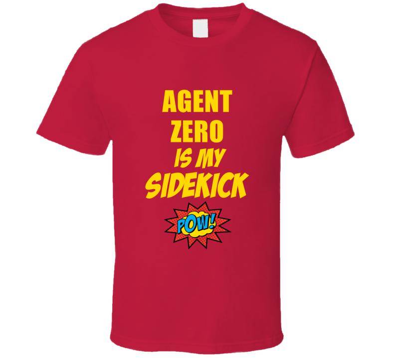 Is My Sidekick Agent Zero Comic Book Parody T Shirt