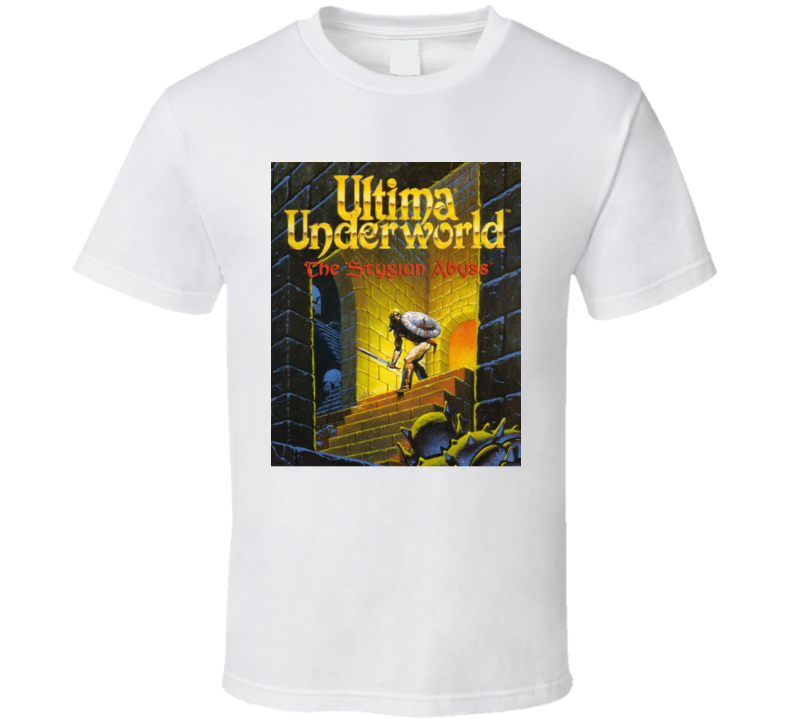 Ultima Underworld Classic Video Game Rpg Crpg Fantasy Cover T Shirt