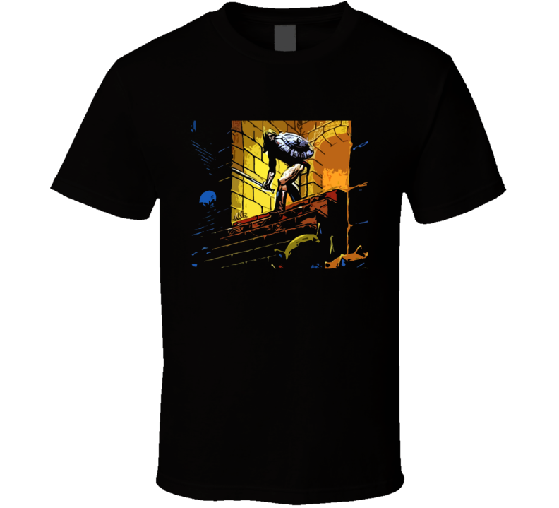 Ultima Underworld Video Game Crpg Rpg Fantasy Art Black T Shirt
