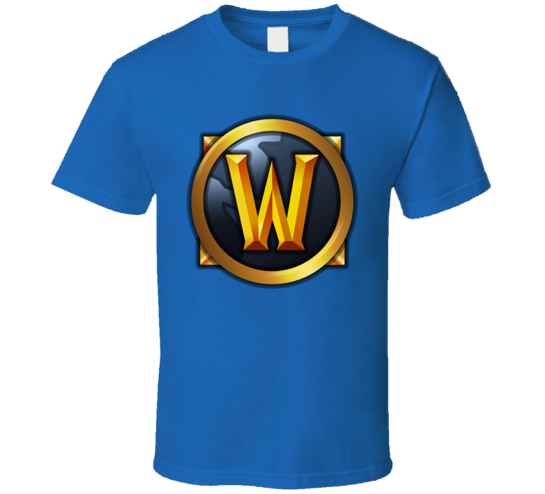 World Of Warcraft Online Video Game Wow Logo Mmorpg T Shirt