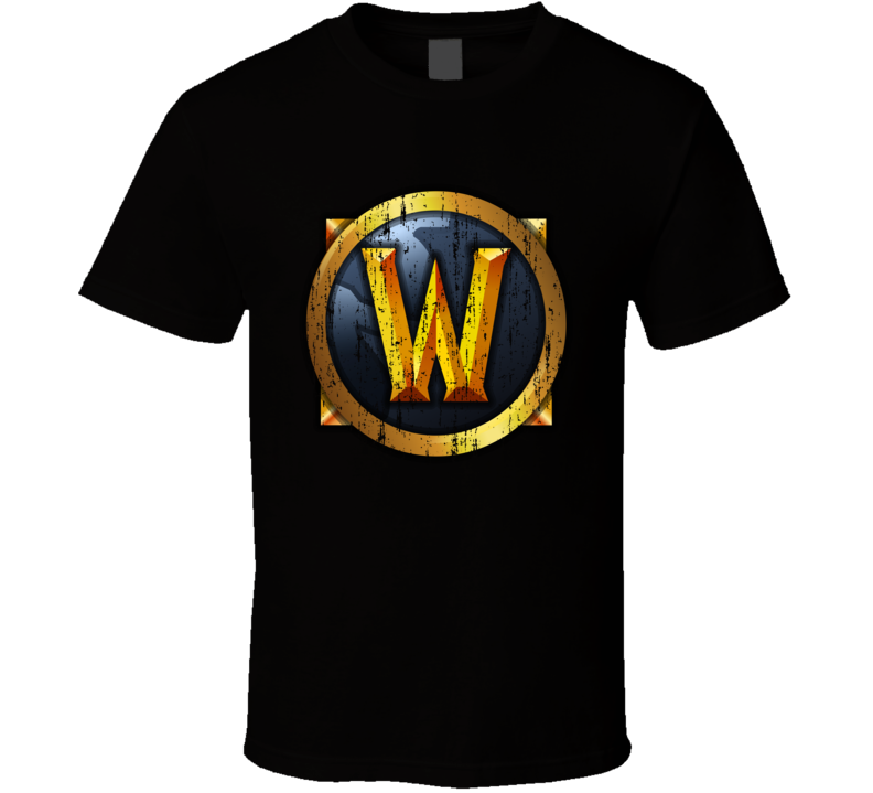 World Of Warcraft Logo Online Video Game Wow Mmorpg T Shirt
