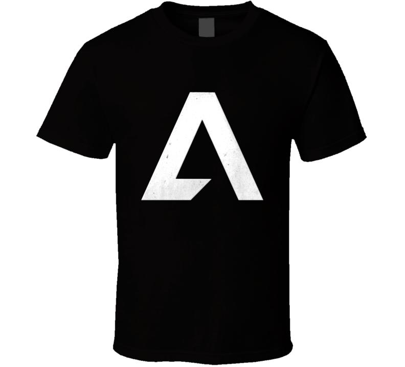 Titanfall 2 Video Game Grey Symbol Logo T Shirt