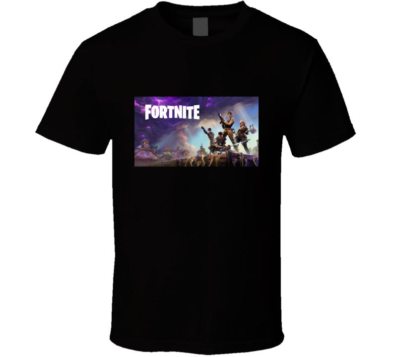 Fortnite Video Game Art Logo Online Shooter T Shirt
